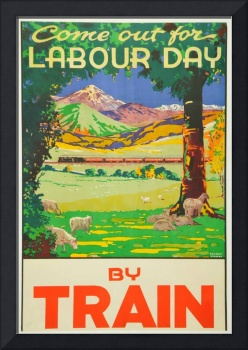 Vintage Travel by Train New Zealand Holiday