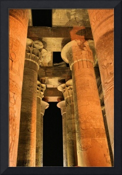 Columns at Kom Ombo Temple