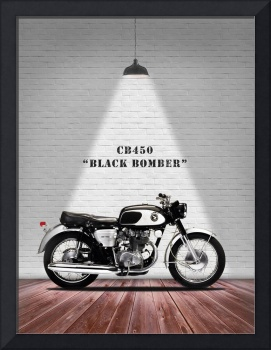 The CB450 Black Bomber Motorcycle