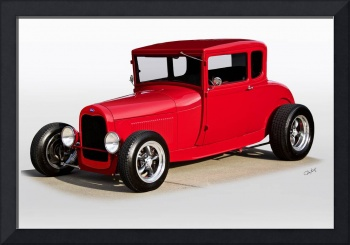 1928 Ford 'Model A' Coupe 'Studio'