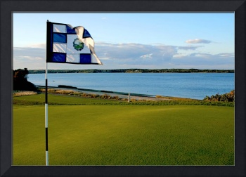 Eastward Ho Golf Course at Sunset #2