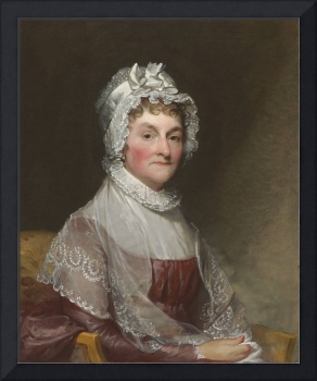 Abigail Smith Adams (Mrs. Adams) by Gilbert Stuart