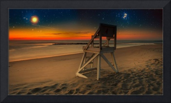 Starry Night Coast Guard Beach Cape Cod