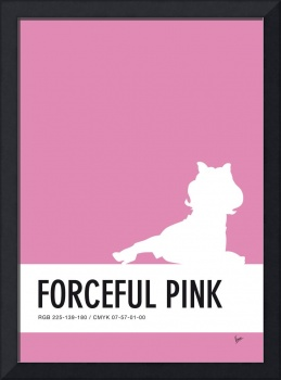 No26 My Minimal Color Code poster Piggy