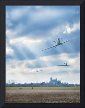 Spitfires Over New Germany