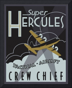 Herk Deco - C-130J Crew Chief - Super Edition