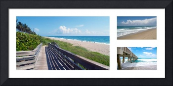 Treasure Coast Florida Seascape Collage 2