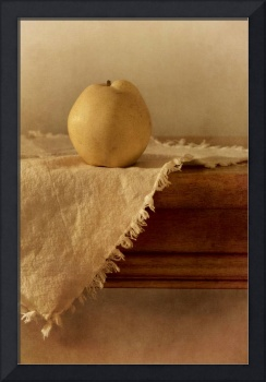 apple pear on a table