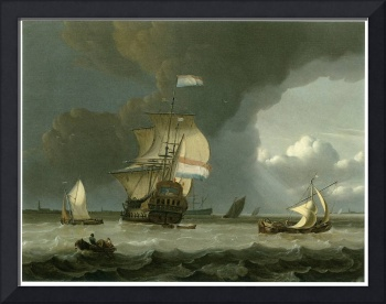 Dutch Ships in the Mouth of the Schelde