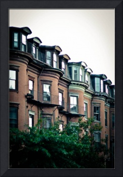Brownstones in The South End, Boston