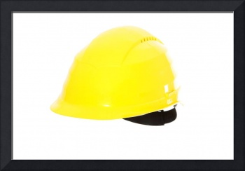 Yellow hard hat.