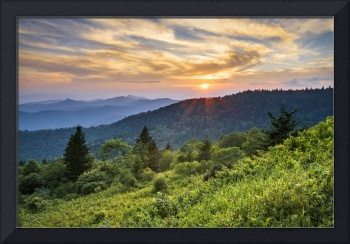 Cowee Mountains Sunset
