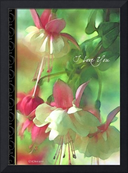Romantic Blossoms Greeting Card