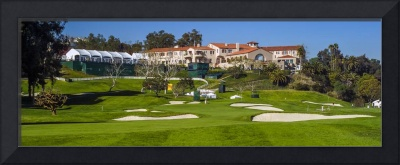 Riviera Country Club Golf Course Hole 9 Photo Wide