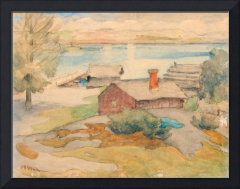 MARIA WIIK, COTTAGE IN THE ARCHIPELAGO.