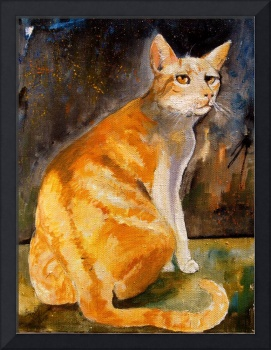 Tommy Cat Stunning Cat Potrait - American Shorthai