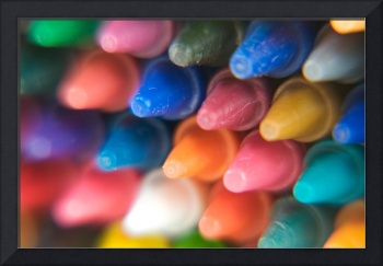Crayons Close-Up