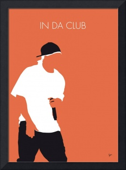 No153 MY 50 Cent Minimal Music poster