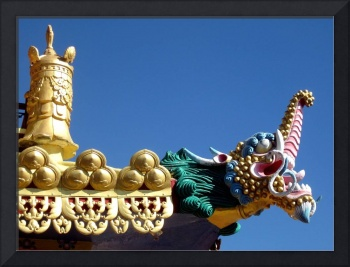 Tibetan Buddhist Temple Detail