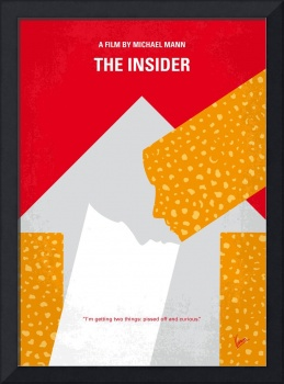No1137 My The Insider minimal movie poster