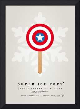 My SUPERHERO ICE POP - Captain America