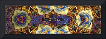 Eyes of Venice Panoramic Abstract