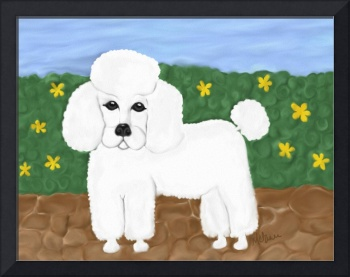 Painted Poodle
