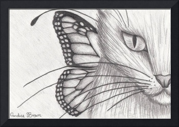 Fairy cat face I sketch