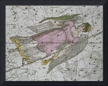 Virgo, from A Celestial Atlas