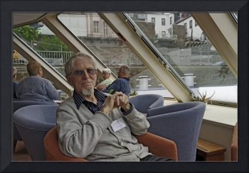 Kit on a riverboat, 2010