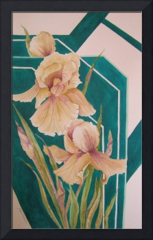 Mirrored Irises