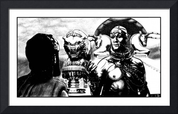 Spartan Meets Persian (Scene from