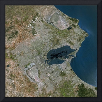 Tunis (Tunisia) : Satellite Image