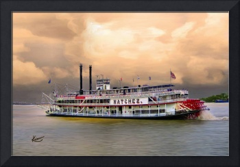 Steamboat Natchez: Rollin' on the River