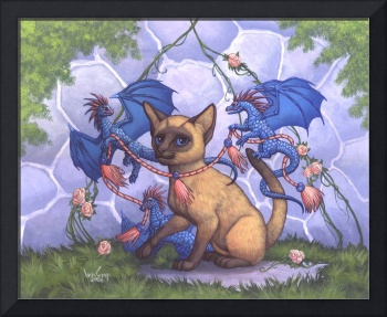 Byron Cat and the Dragons