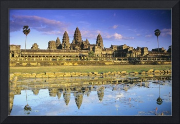 Cambodia, Siem Reap, Angkor Wat, View Of Temple Fr