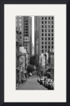 San Francisco street by David Smith