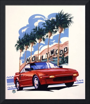 Toyota MR2 Hollywood Hills