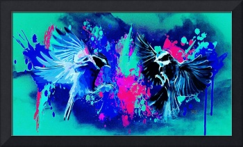 Abstract Bird Art 26