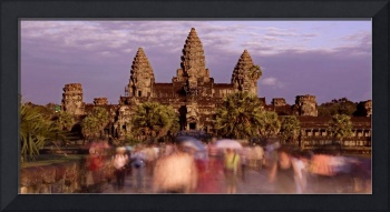 Rush Hour at Angkor Wat