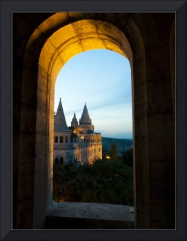 View of Fisherman's Bastion