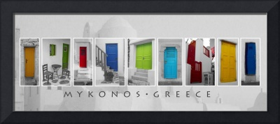 Doors of Mykonos