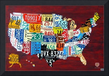 License Plate Map 2011