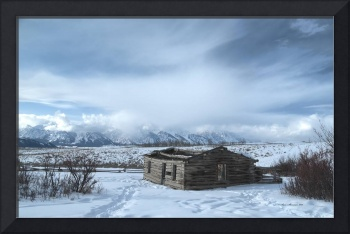 Shane Cabin and the Tetons