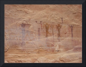 Rochester Rock Art Panel Pictographs