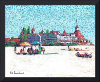 A Day at the Beach on Coronado Island California