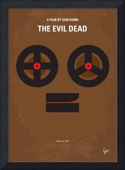 No380 My The Evil Dead minimal movie poster