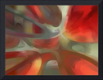 Sanguine Pastel Abstract