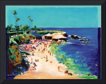 Calm Sea, La Jolla Cove by RD Riccoboni