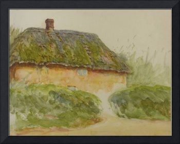 Helen Allingham, R.W.S. 1848-1926 A COTTAGE BY TWO